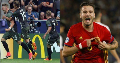 Bán kết U21 châu Âu 2017: Đức, Tây Ban Nha xuất sắc vào chung kết