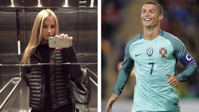 Ronaldo dính nghi án hẹn hò bí mật với chân dài siêu Hot của nước Nga