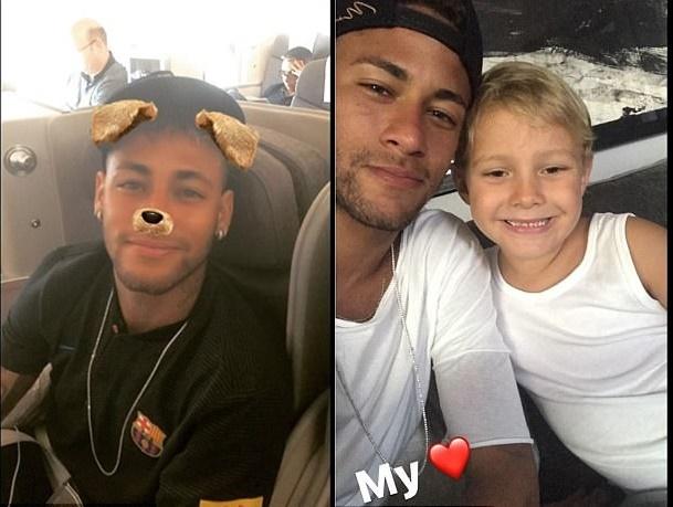 """Trong """"bão"""" tin đồn ra đi, Neymar vẫn hành quân đến Mỹ du đấu cùng Barca"""