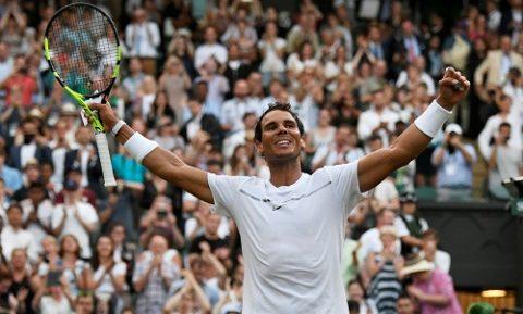 Rafael Nadal đè bẹp đối thủ để bước tiếp vào vòng 3 Wimbledon