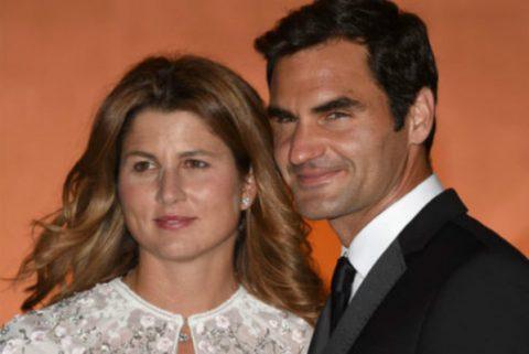 Federer lịch lãm cùng vợ dự tiệc vinh danh nhà vô địch