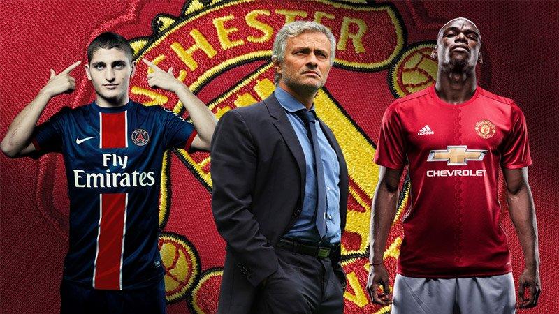 Mourinho mua Verratti: Tìm cho Pogba một 'Pirlo mới'