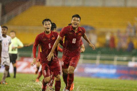 Công Phượng lập cú đúp, U22 VN giành ba điểm sau trận thủy chiến với Đông Timor