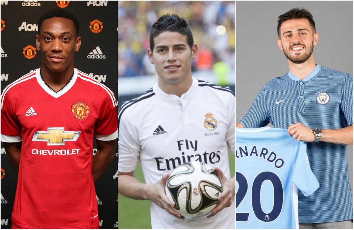 TOP 5 cầu thủ đắt nhất mà Monaco bán đi