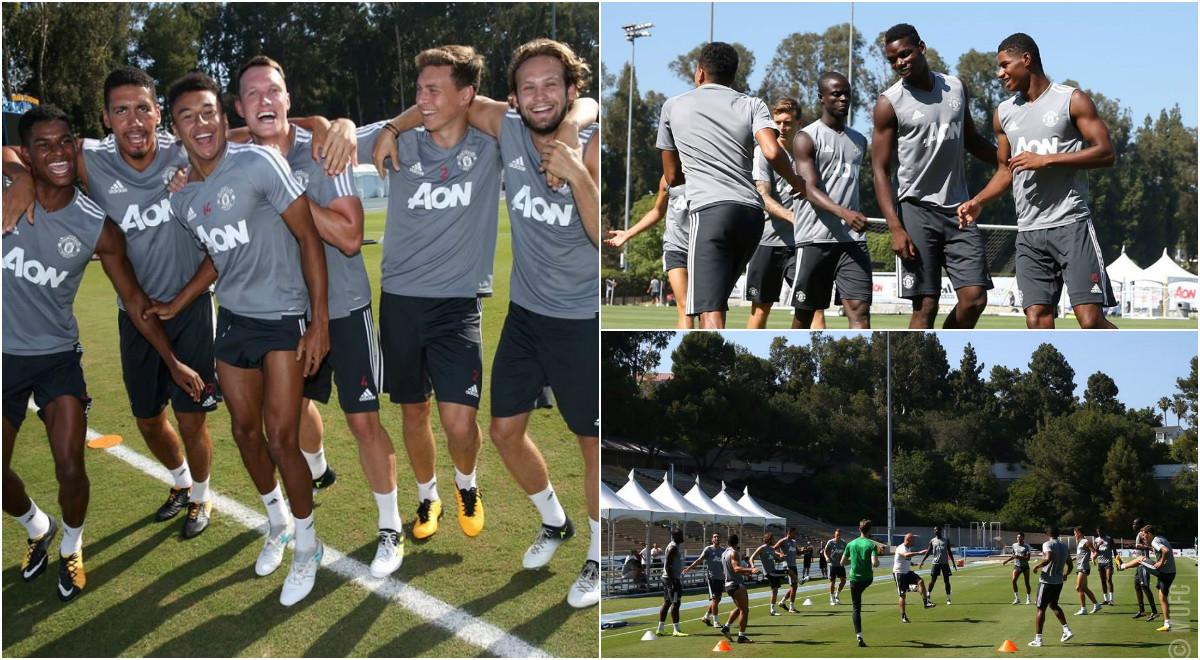 Dàn sao MU tích cực tập luyện, sẵn sàng chiến Real Madrid
