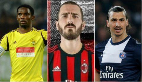 """10 cầu thủ trên 30 tuổi đắt giá nhất: Bonucci """"Number 1"""""""