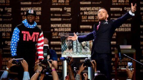 """Mayweather giàu gấp 10 lần vẫn thua xa McGregor về """"độ chịu chơi"""""""