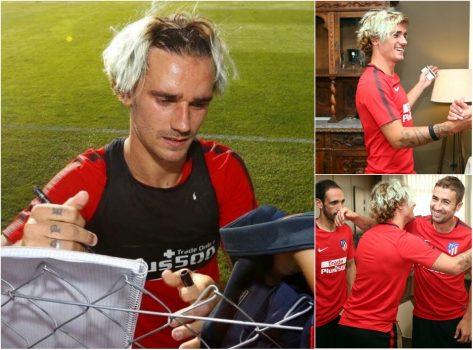 Thay đổi kiểu tóc theo thần tượng, sao Atletico Madrid bị ném đá tơi tả