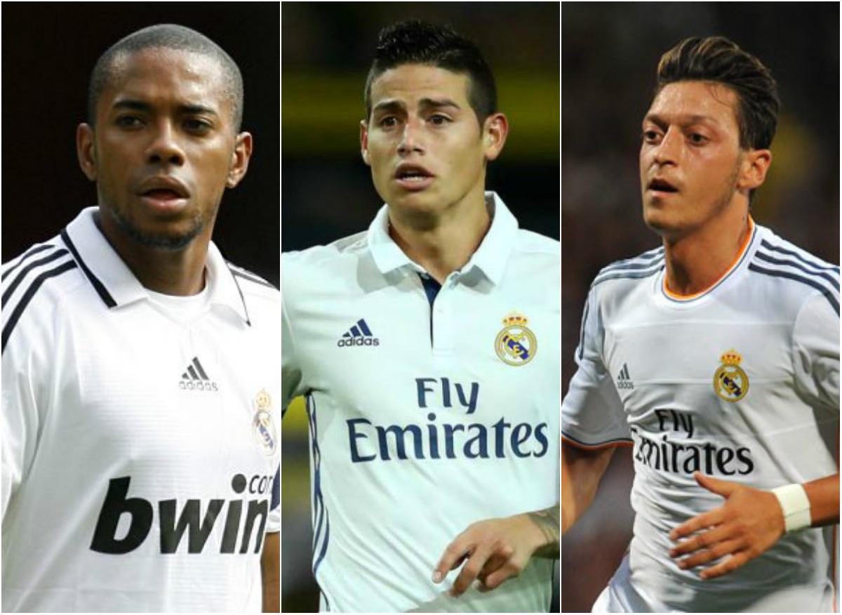 James Rodriguez và những số 10 thất bại của Real Madrid