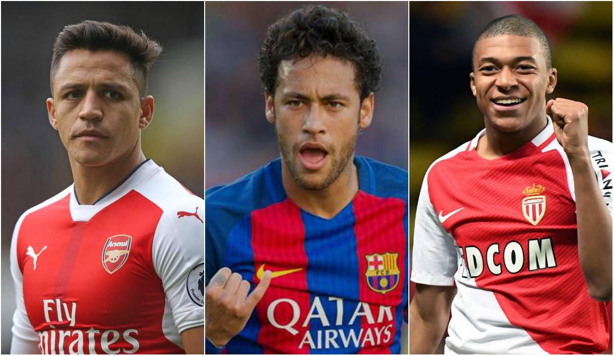 """Neymar và kế hoạch xây """"tam tấu MSN"""" 400 triệu bảng của PSG"""