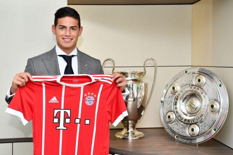 """James Rodriguez: """"Tôi hạnh phúc khi được khoác áo Bayern Munich"""""""