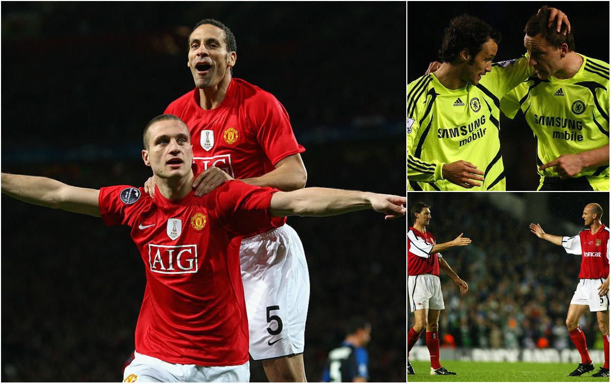 Những cặp trung vệ xuất sắc nhất lịch sử Premier League