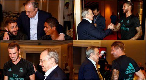 Chủ tịch Perez bay sang Mỹ thăm dàn sao Real