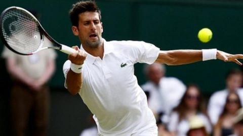Novak Djokovic thắng nhàn trong ngày ra quân tại Wimbledon
