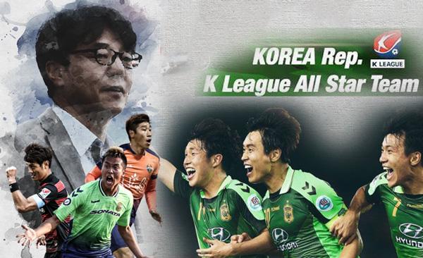 ĐT các ngôi sao K-League chỉ có 1 buổi tập trước trận gặp U22 Việt Nam