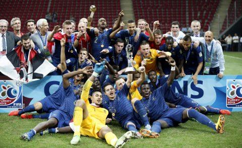 Tuyển Pháp vô địch U20 World Cup 2013 đang ở đâu?