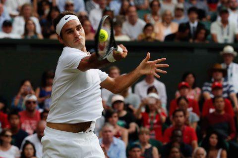 Federer tiến thẳng vào vòng 3 Wimbledon