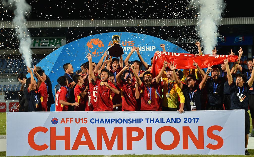 U15 Việt Nam hướng tới mục tiêu dự World Cup U17