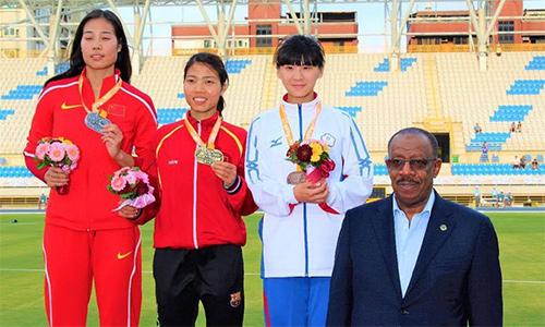 Giành thêm 1 HCB, điền kinh Việt Nam xuất sắc cán đích ở Top 5 giải châu Á