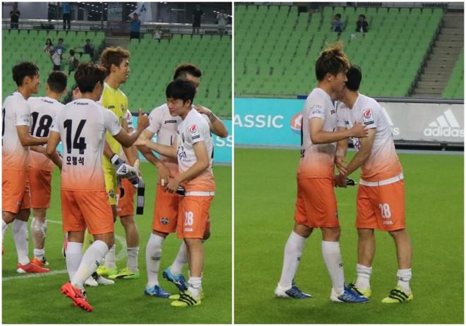 Xuân Trường lần thứ 2 đá chính, Gangwon đại thắng và chiếm ngôi nhì bảng