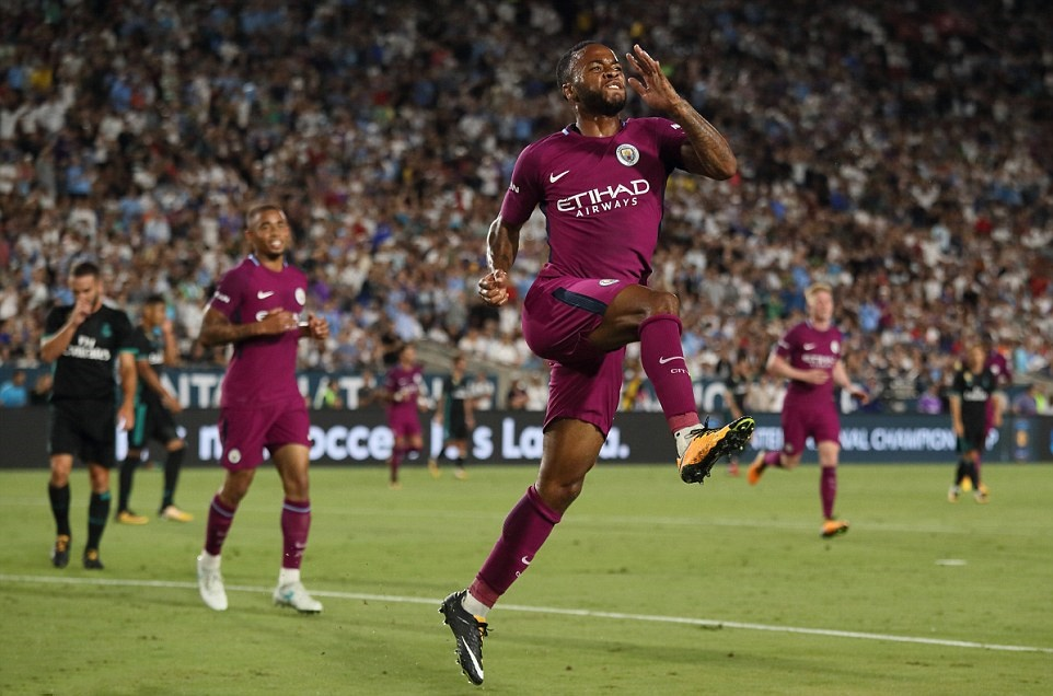 Vắng Ronaldo, Real thua sấp mặt trước Man City trên đất Mỹ