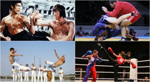 TOP 10 môn võ thuật nguy hiểm nhất ngoài võ thuật phương đông