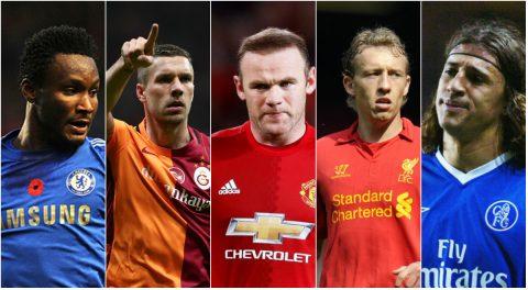 "5 danh thủ từng mang phận ""làm nền"" tại Premier League"