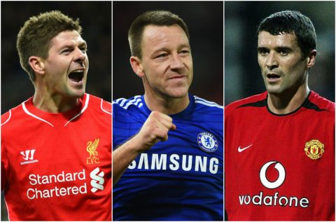 TOP 10 đội trưởng vĩ đại nhất lịch sử Premier League: Số 1 sinh ra để làm thủ lĩnh