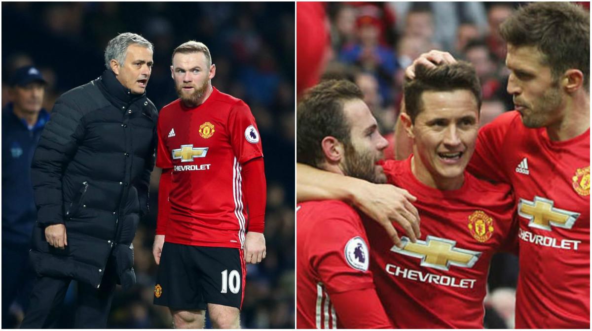 CHÍNH THỨC: Mourinho đã tìm ra người thay thế Rooney cho…tấm băng đội trưởng