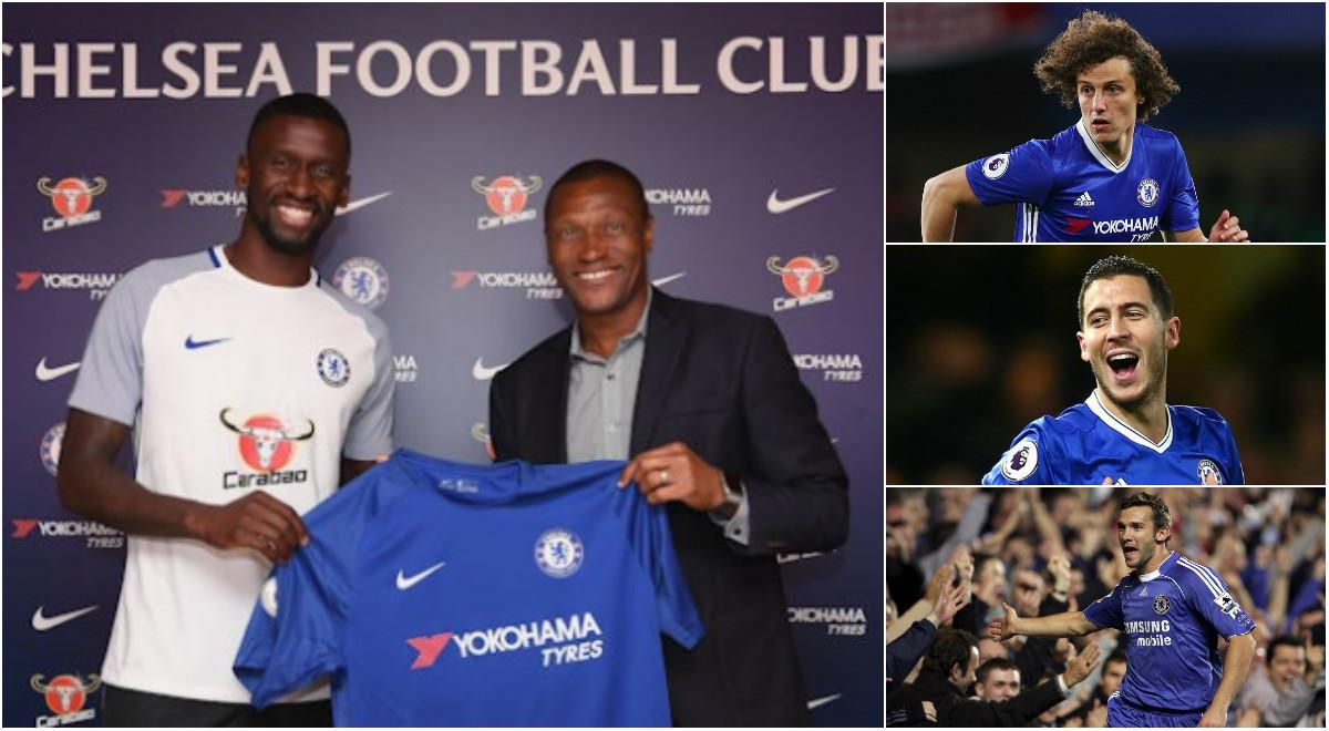 Rudiger và 10 bản hợp đồng đắt giá nhất lịch sử Chelsea