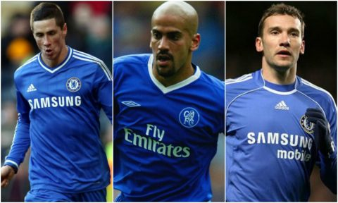 Điểm mặt 15 bản hợp đồng tệ nhất lịch sử của Chelsea
