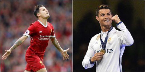 TIN CHUYỂN NHƯỢNG 21/7: Liverpool từ chối mức giá 80 triệu euro cho Coutinho, Zidane khẳng định Ronaldo ở lại Real