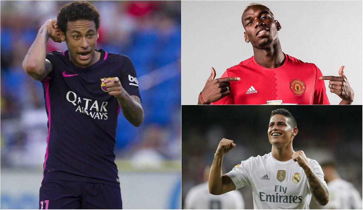 Neymar và top 10 VĐV dưới tuổi 26 được trả thù lao cao nhất