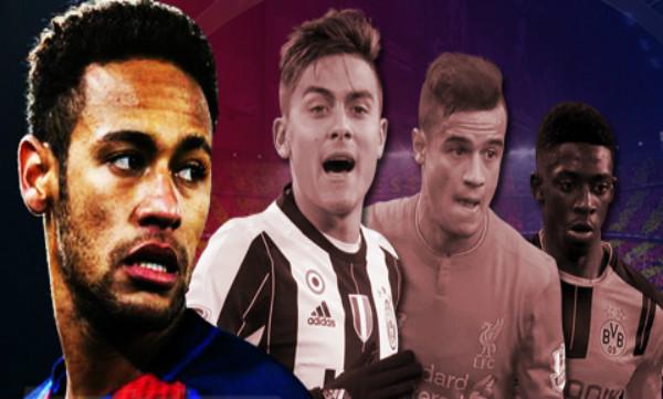 Ngôi sao nào đủ sức thay thế Neymar trên hàng công Barca?