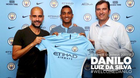 CHÍNH THỨC: Danilo cập bến Etihad, ký hợp đồng 5 năm