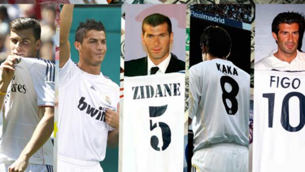 Mbappe và 10 thương vụ đắt giá nhất lịch sử Real Madrid