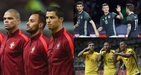 Đội hình cực khủng của 10 ứng cử viên nặng ký cho chức vô địch World Cup 2018