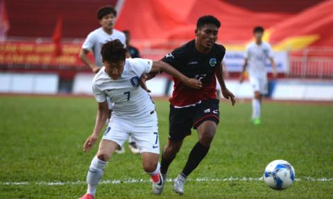 Chiến đấu với tinh thần quả cảm, U22 Đông Timor gây nên cơn địa chấn trước U22 Hàn Quốc