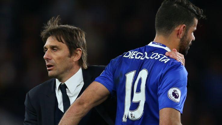 Diego Costa nói lời tạm biệt các đồng đội tại Chelsea