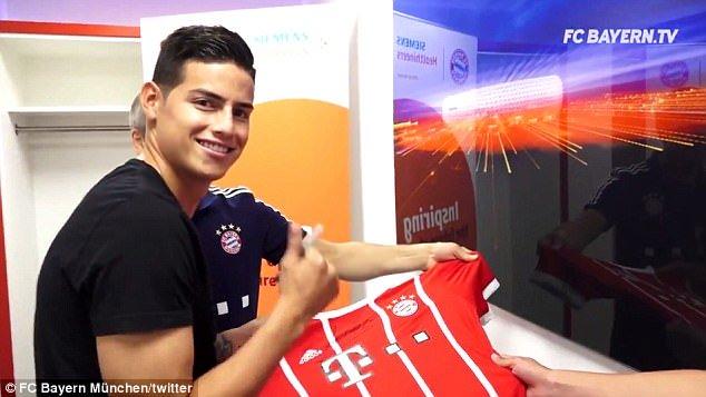 NÓNG: James Rodriguez đã có mặt ở Munich để kiểm tra y tế