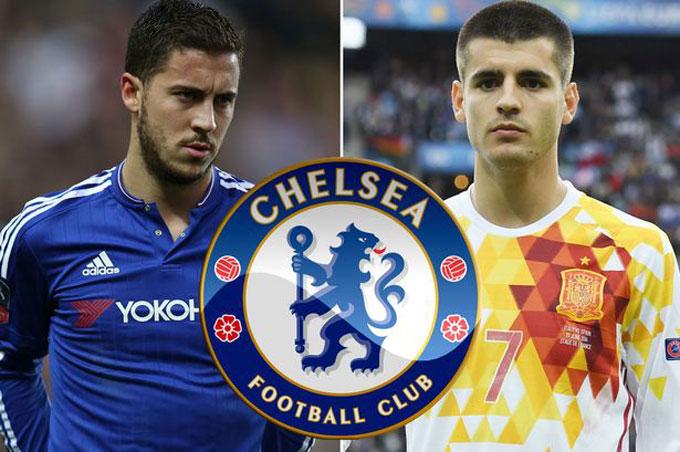 TIN CHUYỂN NHƯỢNG: Real đưa Hazard làm điều kiện để Chelsea bán Morata cho Chelsea