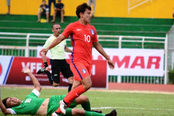 U22 Hàn Quốc vùi dập Macau trong trận mở màn bảng I vòng loại U23 châu Á