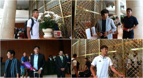 Các ngôi sao K-League đổ bộ tới Hà Nội, chuẩn bị đấu U22 Việt Nam