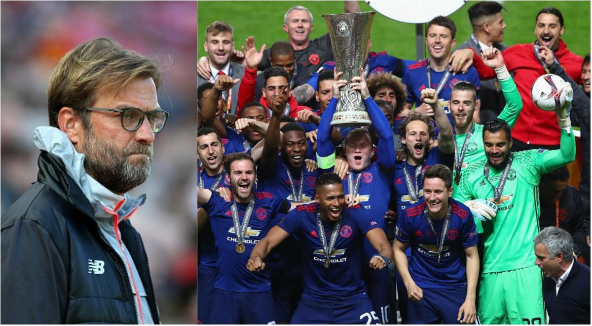 Jurgen Klopp gây phẫn nộ khi khinh rẻ chức vô địch Europa League của Man United
