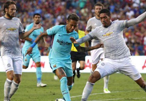 Thấy gì từ thất bại của M.U trước Barca?