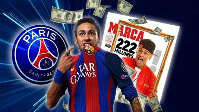 Choáng với số tiền mà PSG phải bỏ ra nếu muốn có Neymar