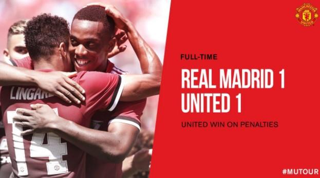 """MU – Real Madrid: Khoảnh khắc """"xuất thần"""" và loạt penalty thảm họa"""