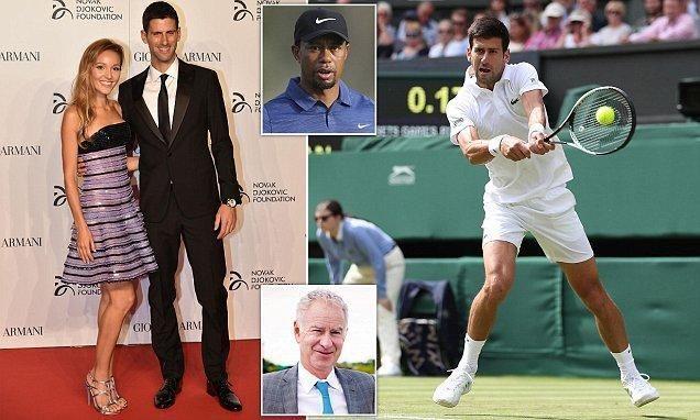 Huyền thoại lo sợ Djokovic đi theo vết xe đổ của Tiger Woods