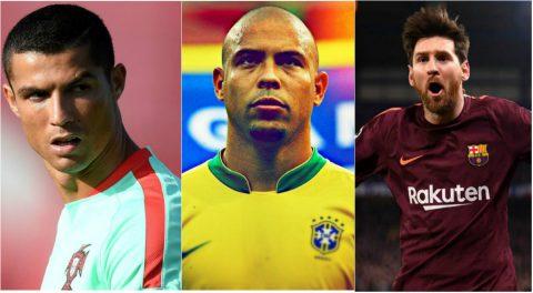 """TOP 10 cầu thủ vĩ đại nhất lịch sử bóng đá thế giới: CR7 xếp trên Rô béo, Messi vượt mặt """"Vua"""" Pele"""