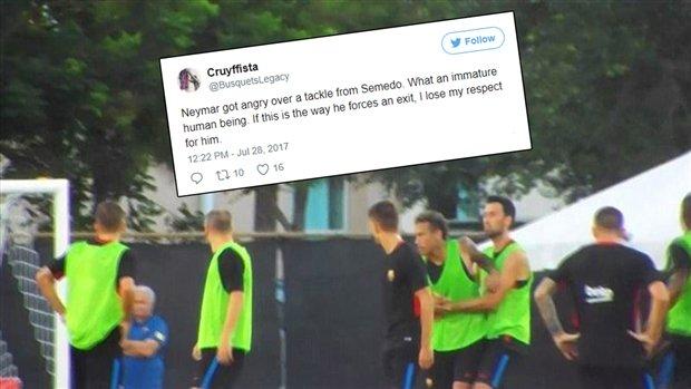 Fan Barcelona đòi 'trảm' Neymar sau vụ đánh nhau trên sân tập